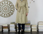 Classic Tan Trench Coat -...