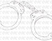 Digital Stamp Handcuffs