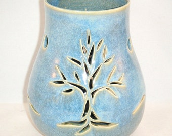 Tree Candle Holder Winter Solstice Luminary