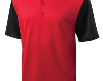 Custom Made Cornerstone CornerStone® Select Snag-Proof Blocked Polo Shirt cs417 w/ Custom Text or Logo