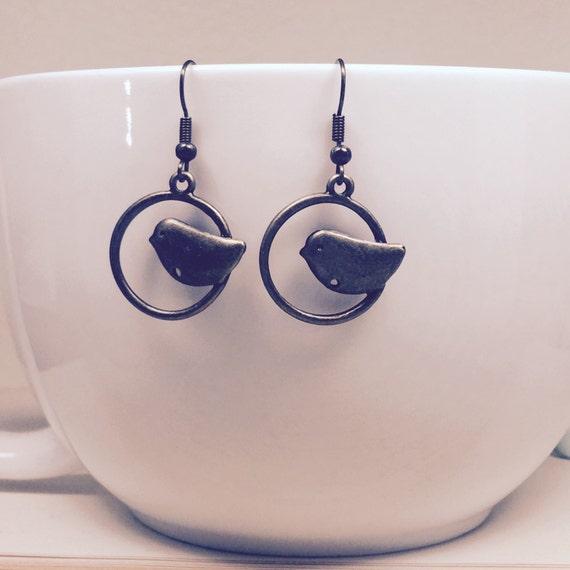tweety bird earrings simple jewelry sweet birdie dangle