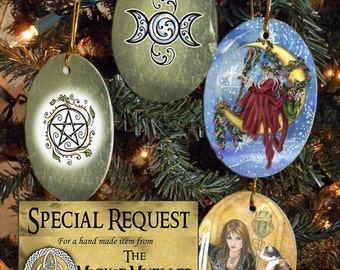 Special Request Set of Four Holiday Ornaments
