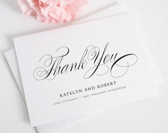 Thank You Cards - Southern Script Design