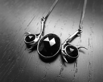 DISCONTINUED Andromeda Necklace - Onyx