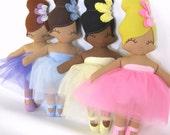 Belinda Ballerina Rag Doll - MADE TO ORDER