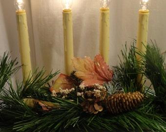 Items similar to christmas electric candle lights - Christmas window sill lights ...