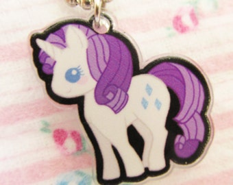 Rarity My Little Pony Necklace