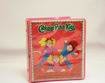 Cabbage Patch Kids Doll Size Notebook 3 Ring Binder 1984