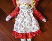 """Vintage Holly Hobbie Doll """"Carrie"""" Knickerbocker with Original Tag Complete"""