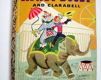 """FIRST EDITION: Little Golden Book """"Howdy Doody and Clarabell"""" #121"""