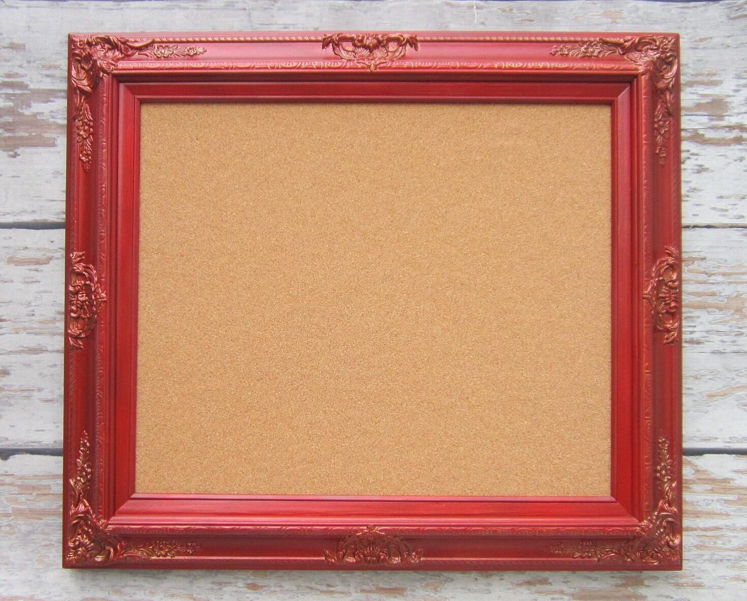 Decorative Framed Cork Boards For Sale Memo By Revivedvintage