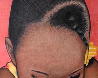 "18""x24"" Custom Colored Pencil Portrait"