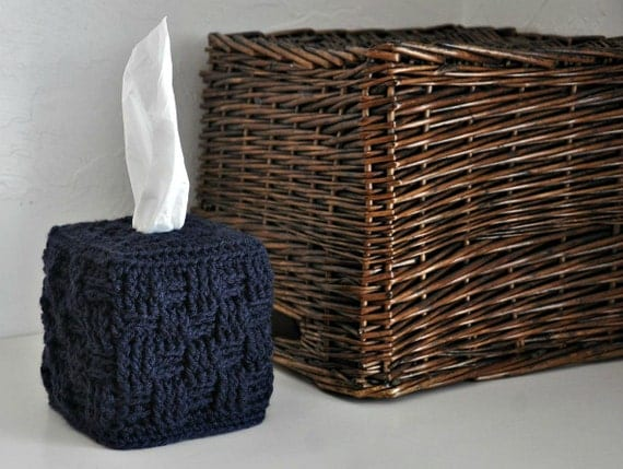 Home Decor Tissue Box and Basket