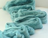 MINT Mulberry Silk & superfine 18mic Merino Wool Blend Colour no. 707