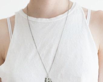 Refuge / Home Necklace Handmade of Sterling Silver
