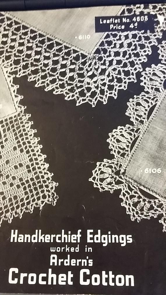 Crochet Lace Pattern For Handkerchief Pakbit For