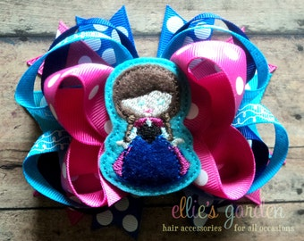 Anna Cutie Layered Boutique Style Hair Bow