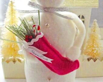 Snowmen Smart Handmade Snowman Decoration