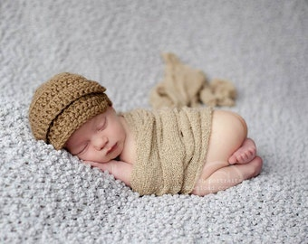 Neutral Baby Boy Hat, Baby Hat, Newborn Hat, Crochet Hat, Newsboy Hat, Newborn Boy Hats, Newborn Photo Props, Coming Home Outfit, Beanie