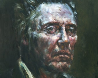Christopher Walken, Print from Original Oil Painting