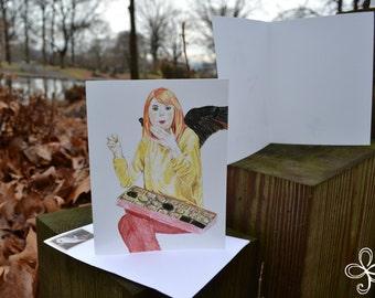 Bridget Valentine's (Fae and Furious) Greeting Card