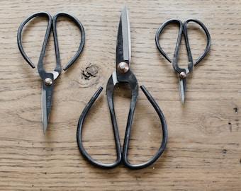 SET OF 3 Garden Scissors - Small + Medium + Large