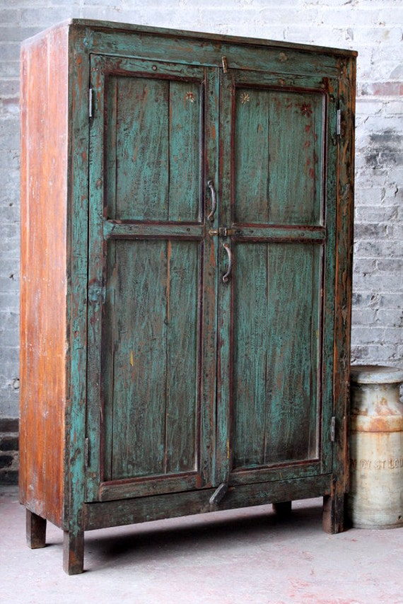 Deposit reserved for shari vintage distressed kitchen cupboard for What kind of paint to use on kitchen cabinets for industrial chic wall art