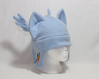 Rainbow Dash Hat Pony Pegasus Hat LAST CHANCE to be Discontinued