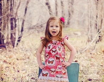 Carolina Sweetheart Dress pattern 12-18m 18-24m 2t 3t 4t 5t 6 7 8 10 12 14 INSTANT DOWNLOAD