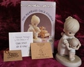 "1991 Precious Moments Members Only Figurine ""One Step At A Time"""