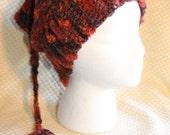SALE!!! Crocheted Woodland ELF BEANIE