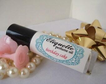 Birthday Cake Perfume Oil 10 ml Roll On Fragrance