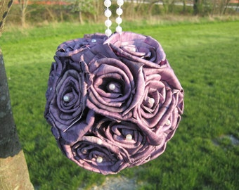 Sola rose flower ball - PURPLE - Perfect for decorations or a flower girl