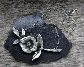 Wild Rose Large Pendant Necklace