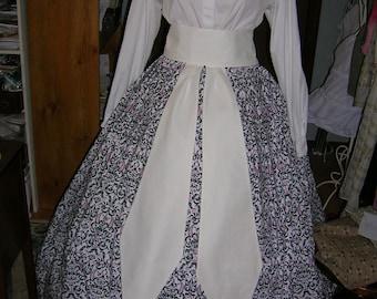 Ladies Civil War Drop Tie Sash