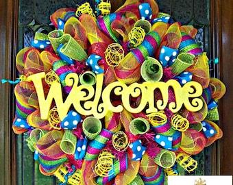 Welcome Summer Wreath