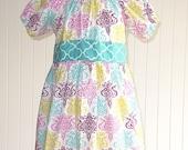 Ashley Peasant Dress Sewing Pattern, Long Sleeve Peasant Dress Sewing Pattern, Instant Download PDF Sewing Pattern, Peasant Dress Pattern