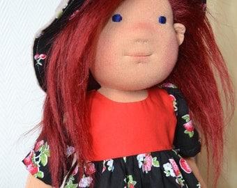 Waldorf Doll -Felisity -  Handmade doll, Waldorf inspired doll, Steiner doll, waldorf inspired