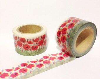 Flower Washi Tape (30mm X 10M)