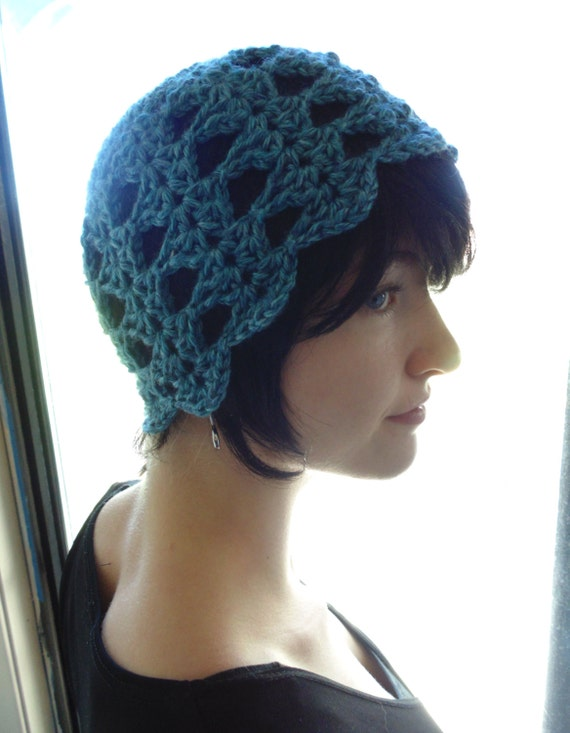 Crochet PATTERN Dora II Flower Cloche Hat by Lifeinsmallspaces