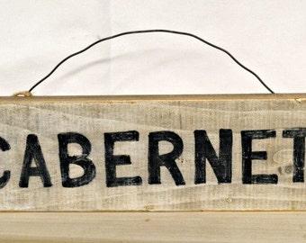 CABERNET sign