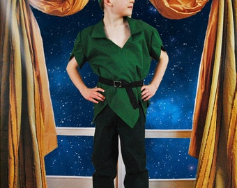 My Adventure: Peter Pan Costume - Sizes 2T, 3T, 4T, 5, 6, 7, 8 and 10