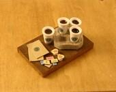 Miniature Starbucks Coffee for Four