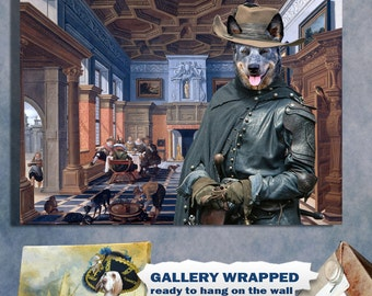 """Shop """"australian cattle dog"""" in Painting"""