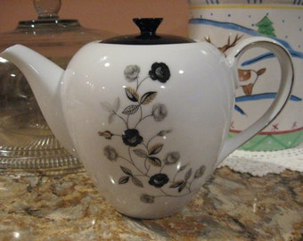 PRICE REDUCED:  Yamaka Prelude Pattern Teapot (Japan)
