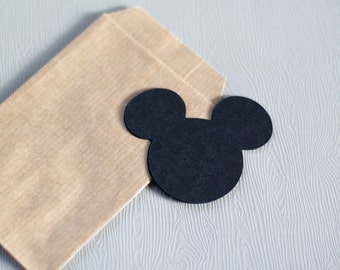 Tag / Label Mickey x12