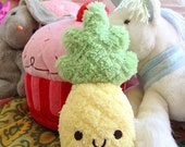 Cute Pineapple Plush Toy or Cushion - 2 Sizes