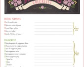 Wedding Checklist 17 Pages Printable PDF