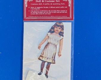 Old Fashioned Doll & Costume Set, vintage