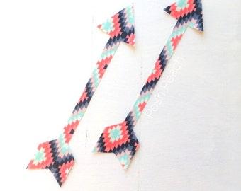 DIY Iron-on Appliques (2) - Aztec Arrows
